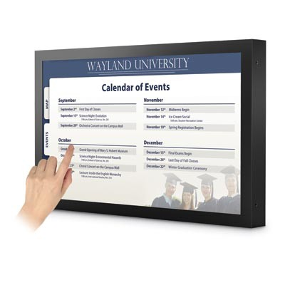 46 LCD Commercial Touch Interactive Display