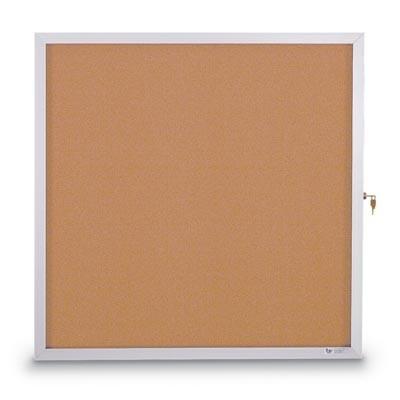 "24 x 36"" Slim Style Standard Enclosed Corkboard"