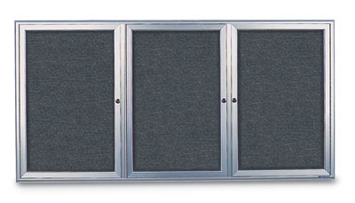 "72 x 48"" Radius Frame Enclosed Easy Tack Boards"