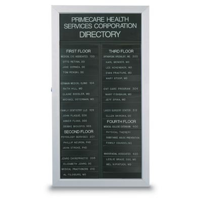 "16 1/2 x 33"" Slim Style Directory (GD Type)"