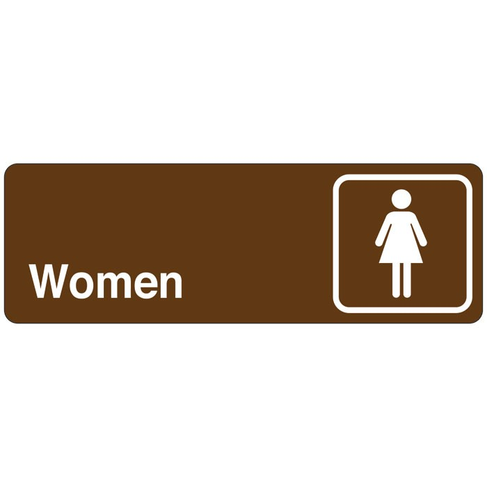 Women Directional Sign
