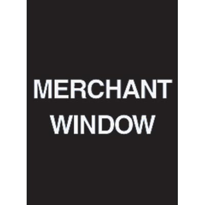 "9 x 12"" Merchant Window Acrylic Sign"