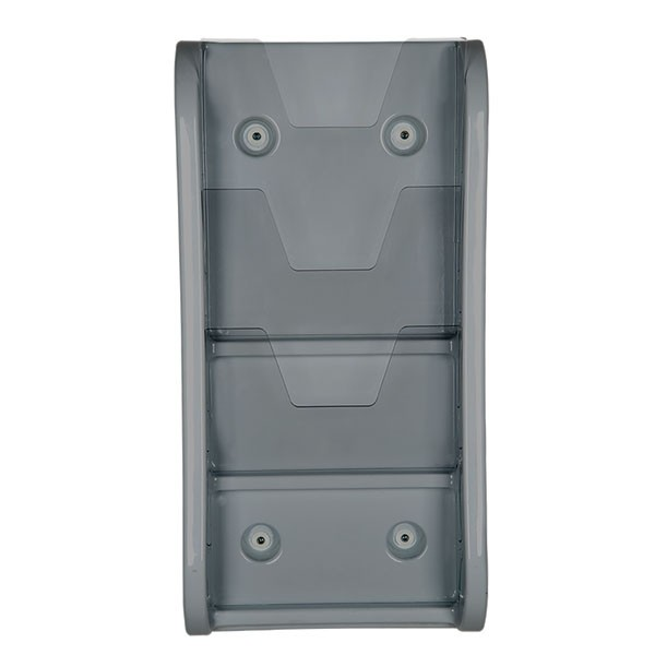 """Wall Unit 3 Tiers, for 8.5"""" X 11"""" Graphics Gray"""