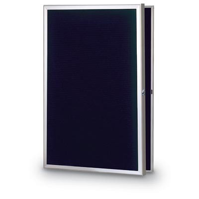 "24 x 36"" Slim Style Radius Framed Enclosed Letterboard"