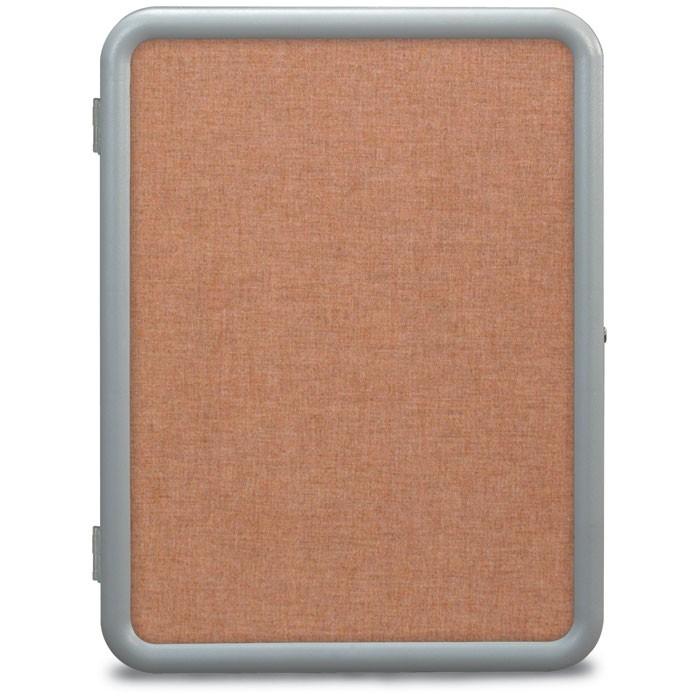 "24 x 36"" ""Image"" Enclosed Corkboards- Cinnabar Fabricboard"