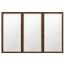 "72 x 48"" Wood Enclosed Dry/Wet Erase Boards"