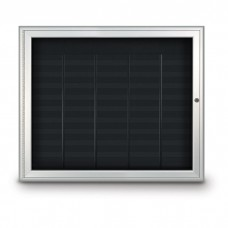 """41 x 34"""" Radius Frame Nonmagnetic Enclosed Directory Board (AD Type)"""