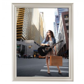 "Decorative  Frame 22'' X 28'' Poster Size 1.58"" Beige Color Profile, Mitered Corner"