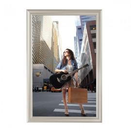 """Decorative  Frame 24'' X 36'' Poster Size 1.58"""" Beige Color Profile, Mitered Corner"""