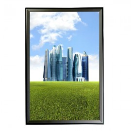 "Snap Frame 24"" X 36"" Poster Size, 1.25"" Black Color Profile, Mitered Corner"