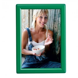 "5'' X 7'' Poster Size 0.55"" Green (RAL 6029) Profile, Safety Corner, With Back Support"