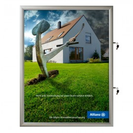 "24""w x 36""h Poster Size Single Lock, Weatherproof"