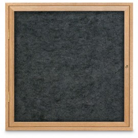 "36 x 36"" Wood Enclosed Easy Tack Board"