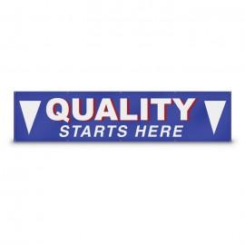 10' x 3' Custom Banner