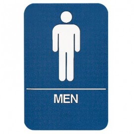 Men Restroom ADA Compliant Sign