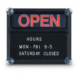 "14 x 12"" Open/Closed Sign"