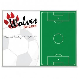 "36 x 24"" Steel Sublimated Metal Dry/Wet Board"