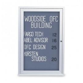 """18 x 24"""" Indoor Enclosed Easy Tack Board"""