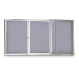 """96 x 48"""" Indoor Enclosed Easy Tack Board"""