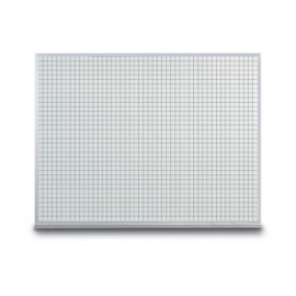 "36 x 24"" Porcelain Open Faced Grid Board"