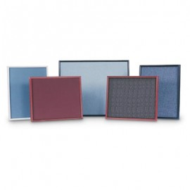 "20 x 16"" Plastic Framed Fabric Covered Corkboards"