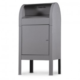 Grey Curbside Collection Box