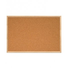 "36 x 24"" Open Faced Decorative Framed Corkboards"