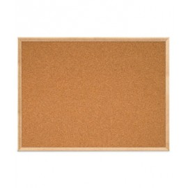 "48 x 36"" Open Faced Decorative Framed Corkboards"