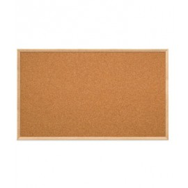 "60 x 36"" Open Faced Decorative Framed Corkboards"