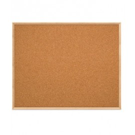 "60 x 48"" Open Faced Decorative Framed Corkboards"