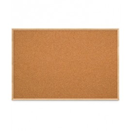 "72 x 48"" Open Faced Decorative Framed Corkboards"