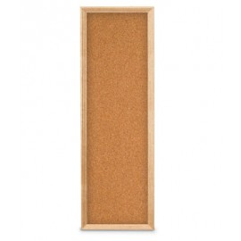 "12 x 36"" Open Faced Decorative Framed Corkboards"
