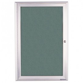 "18 x 24"" Radius Frame Enclosed Easy Tack Boards"
