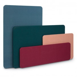 """12 x 36"""" Unframed Fabric Covered Corkboards"""