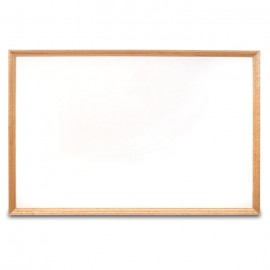 "36 x 24"" x 3/4"" Decorative Hardwood Framed Porcelain On Steel Dry Erase Boards"