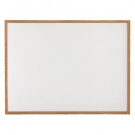 "48 x 36"" Hardwood Framed Porcelain On Steel Dry/Wet Erase Board"