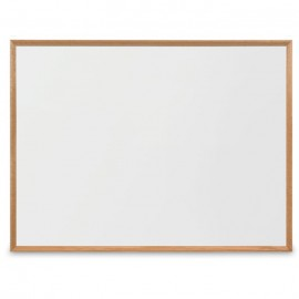 "48 x 36"" x 3/4"" Decorative Hardwood Framed Porcelain On Steel Dry Erase Boards"