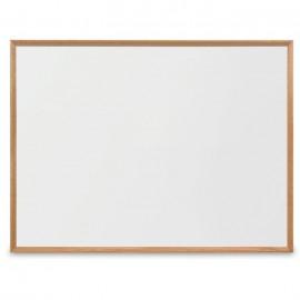 """48 x 36"""" x 3/4"""" Decorative Hardwood Framed Porcelain On Steel Dry Erase Boards"""