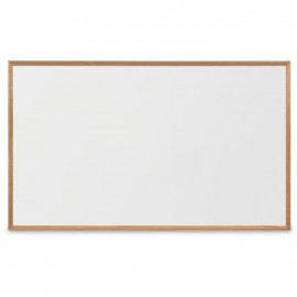 "60 x 36"" x 3/4"" Decorative Hardwood Framed Porcelain On Steel Dry Erase Boards"