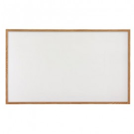 "96 x 48"" Hardwood Framed Porcelain On Steel Dry/Wet Erase Board"