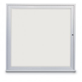 "36 x 36"" Single Door Standard Indoor Enclosed Dry/Wet Erase Boards"
