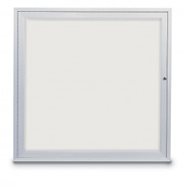 "36 x 36"" Single Door Standard Outdoor Enclosed Dry/Wet Erase Board"