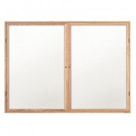 "48 x 36"" Wood Enclosed Dry/Wet Erase Boards"