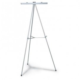 Display Easel with Flipchart Bar