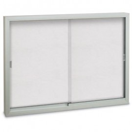 "60 x 36"" Sliding Glass Dry/Wet Erase Boards"