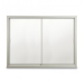 "72 x 48"" Sliding Glass Dry/Wet Erase Boards"