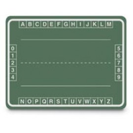Alphabet Boxes Green Chalkboard