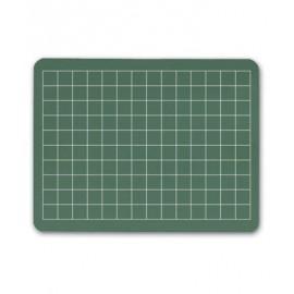Grid Green Chalkboard