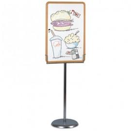 """Image"""" Pedestal Base Kit for 24"""" x 36"""" Board Vertical"""