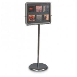 """Image"""" Pedestal Base Kit for 18"""" x 24"""" Board Vertical"""